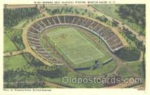 spo036033 - Bowman Gray Memorial Stadium, Winston-Salem, NC, USA Foot Ball,  Football Stadium Postcard Postcards
