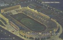 spo036037 - Soldiers Field, Lake Front, Chicago, IL, USA Foot Ball,  Football Stadium Postcard Postcards