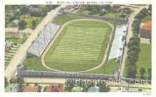 spo036041 - Municipal Stadium, Bristol, VA Foot Ball,  Football Stadium Postcard Postcards
