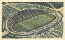 spo036047 - Alamo Stadium, San Antonio, TX, USA Foot Ball,  Football Stadium Postcard Postcards