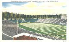 spo036050 - Scott Stadium, Charlottesville, VA, USA Foot Ball,  Football Stadium Postcard Postcards