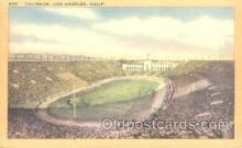 spo036054 - Coliseum, Los Angeles, CA, USA Foot Ball,  Football Stadium Postcard Postcards