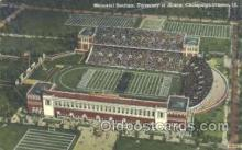 spo036055 - Memorial Stadium, Champaign-Urbana, IL, USA Foot Ball,  Football Stadium Postcard Postcards