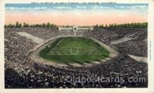 spo036060 - Olympic Stadium, Los Angeles, California, USA Football Stadium, Postcard Post Card Old Vintage Antique