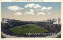 spo036066 - Harvard Stadium, Cambridge, Massachusetts, USA Football Stadium, Postcard Post Card Old Vintage Antique