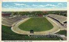 spo036067 - Creighton University, Stadium, Omaha, Nebraska, USA Football Stadium, Postcard Post Card Old Vintage Antique