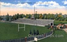 spo036068 - J.C. Donnell Memorial Stadium, Findlay, Ohio, USA Football Stadium, Postcard Post Card Old Vintage Antique