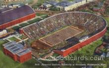 spo036069 - M-59 Memorial Stadium, University of Minnesota, Minneapolis, Minnesota, USA Football Stadium, Postcard Post Card Old Vintage Antique