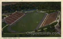 spo036071 - Fawcett Stadium, Canton, Ohio, USA Football Stadium, Postcard Post Card Old Vintage Antique