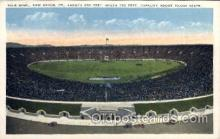 spo036081 - Yale Bowl, New Haven, Connecticut, USA Football Stadium, Postcard Post Card Old Vintage Antique