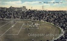 spo036086 - The Stadium, San Diego, California, USA Football Stadium, Postcard Post Card Old Vintage Antique