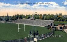 spo036087 - J.C. Donnell Memorial Stadium, Findlay, Ohio, USA Football Stadium, Postcard Post Card Old Vintage Antique
