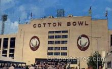 spo036088 - Cotton Bowl, Dallas, Texas, USA Football Stadium, Postcard Post Card Old Vintage Antique
