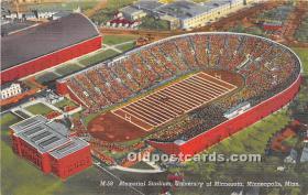 Memorial Stadium, University of Minnesota