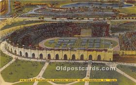 Air View of Philadelphia Municipal Stadium