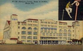 spo040015 - Biscayne Fronton,Jai Alai, Miami, Florida, USA Postcard Postcards