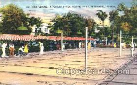 spo041006 - St. Pertesburg, Shuffle Board, Shuffleboard, Postcard Postcards