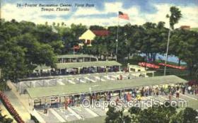 spo041008 - Tampa, Florida USA Plant Park, Shuffle Board, Shuffleboard, Postcard Postcards