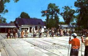 spo041012 - St. Cloud, Florida, USA Shuffle Board Club, Shuffleboard, Postcard Postcards