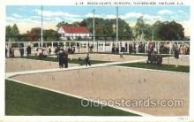 spo041025 - Roque Courts, Municipal Playgrounds Roque Courts, Postcard Postcards