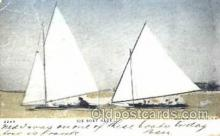 spo042008 - Ice Boat Race, Ice Boating, Postcard Postcards
