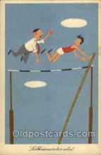 spo043014 - Track & Field Postcard Postcards