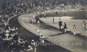 spo043038 - Olympiska Spelens I Stockholm, 1912,  Track & Field Postcard Postcards