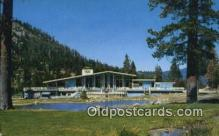 spo044043 - Squaw Valley Chalet, Squaw Valley, California, CA USA Olympic Sports Postcard Post Card Old Vintage Antique