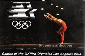 Gymnastics, 1984 Los Angeles Olympics