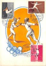 Fencing, 1960