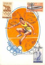 High Jumping, 1960 Olympics