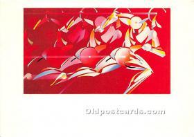 Artwork by Lon Busch, Pan American Games Auguts 7-23