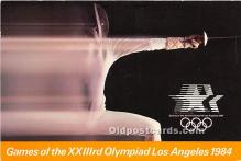 Fencing, 1984 Los Angeles Olympics