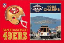 San Francisco 49ers 1985 Champs