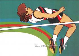 Original Artwork by Robert Peak, 1984 Summer Olympics