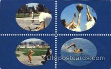 spo045007 - 76 Sports Club, Swimming, Baseball, Tennis, Basketball,  Postcard Postcards