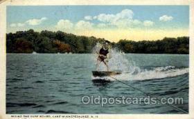 spo045106 - Lake Winnepesaukee, NH, USA, Water Skiing Postcard Postcards