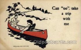 spo045114 - Canoe Postcard Postcards