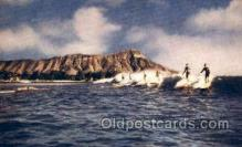 spo045131 - Waikiki, Hawaii, Ocean Surfing Postcard Postcards