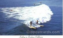 spo045137 - Southern California, USA, Ocean Surfing Postcard Postcards