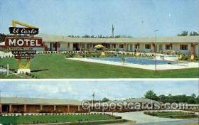 El Carlo motel, Valdosta, Georgia, USA
