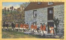 spo046012 - Blessing the Hounds Prior to Fox Hunt Dog Racing Postcard Postcards