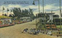 spo046055 - West Flagger Kennel Club, Miami Beach, FL USA Dog Racing, Old Vintage Antique Postcard Post Card