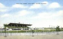 spo046057 - Mile High Kennel Club, Denver, CO USA Dog Racing, Old Vintage Antique Postcard Post Card