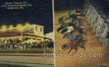 spo046110 - Hollywood Kennel Club, Hollywood, FL USA Dog Racing, Old Vintage Antique Postcard Post Card