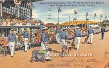 Greyhound Parade before fans, West Flagler Kennel Club