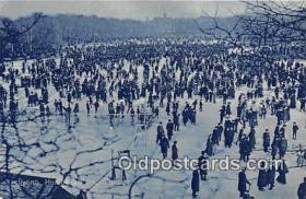spo049016 - Ice Skating Postcard