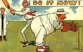 spo050003 - Cricket Postcard Postcards