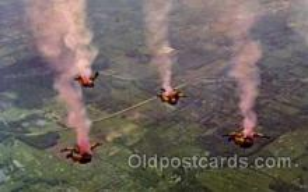 spo050008 - Fort Bragg, North Carolina, Sky Diving, Postcard Postcards