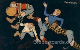 spo050014 - Football Foot Ball, Postcard Postcards